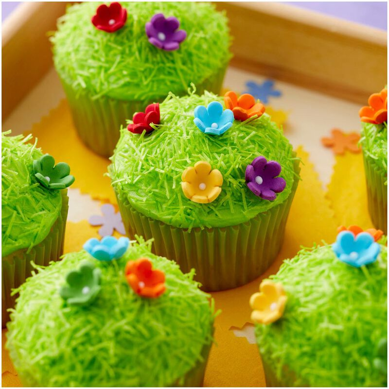 Mini Daisy Multi-Color Icing Decorations, 32-Count image number 3
