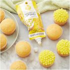 Yellow Icing Pouch with Tips, 8 oz.