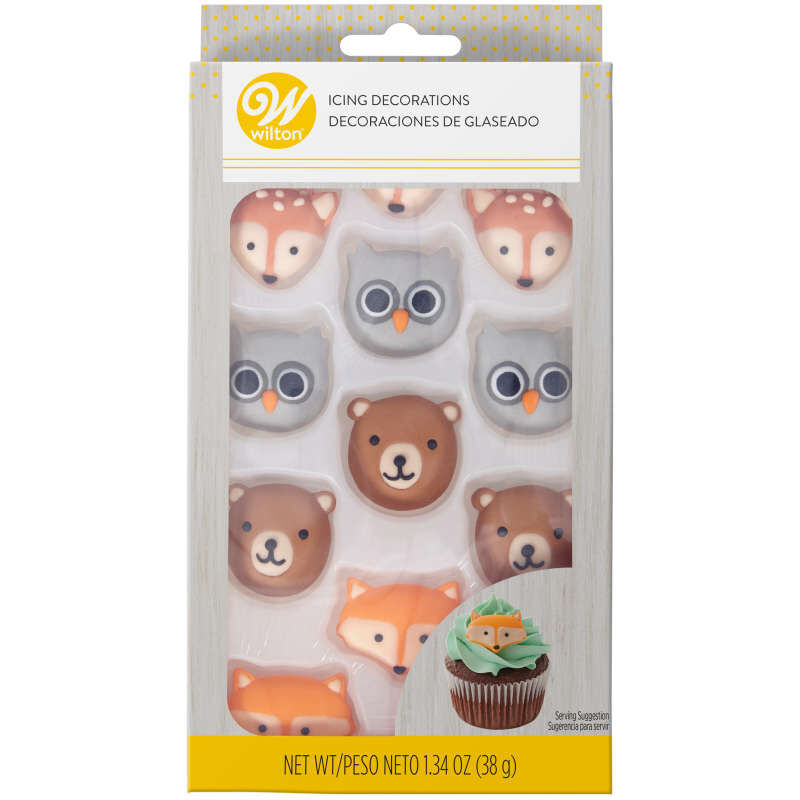 Camping Adventurers Icing Decorations, 12-Count image number 2