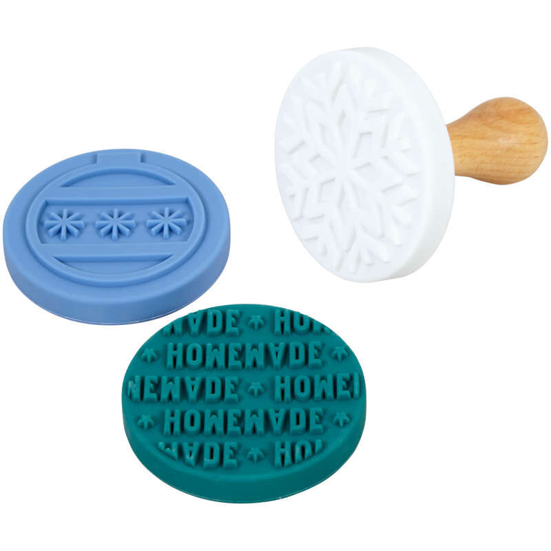 Christmas Cookie Stamp Set, 4-Piece image number 3