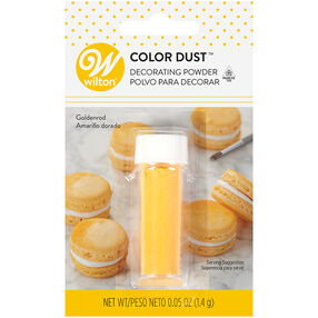 Goldenrod Color Dust, 0.05 oz.