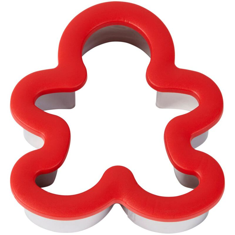 Large Gingerbread Man Comfort-Grip Cookie Cutter image number 2