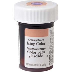 Creamy Peach Gel Food Coloring Icing Color