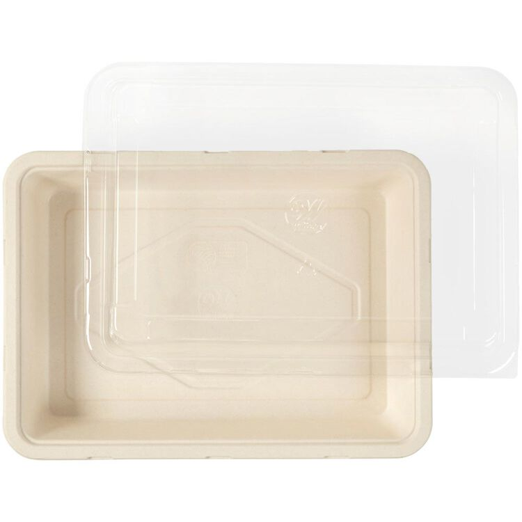 Disposable Oblong Baking Pan with Lid, 9 x 13-Inch