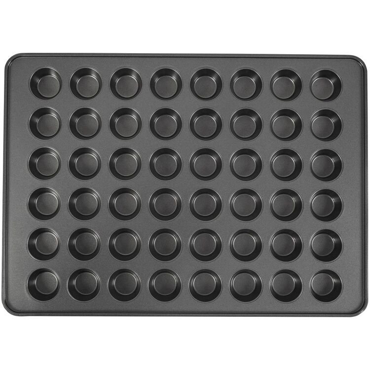 Perfect Results Non-Stick Mega Mini Muffin and Cupcake Pan, 48-cup