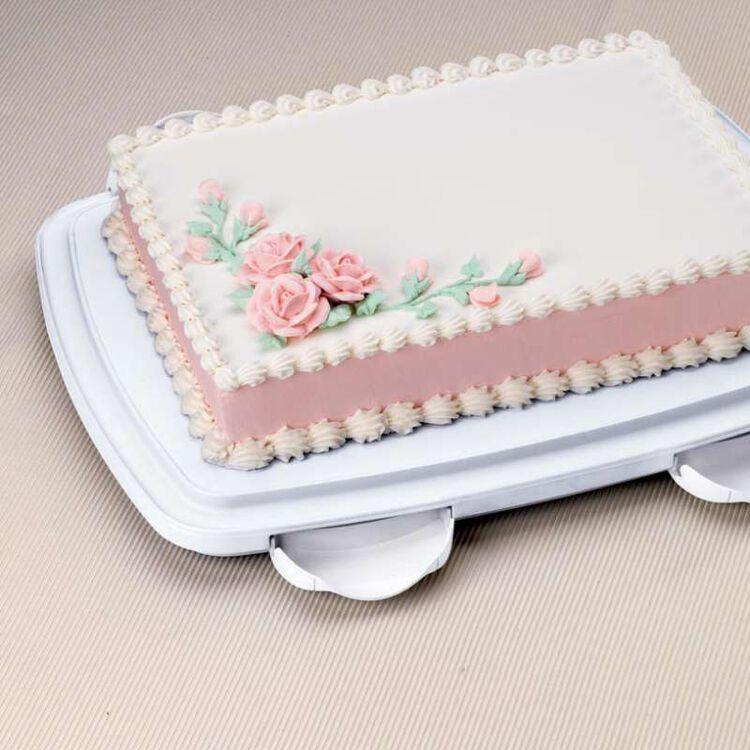 Oblong Cake and Cupcake Caddy