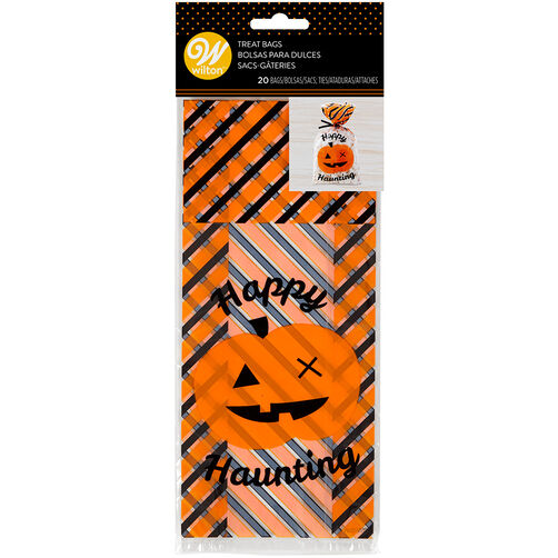 Happy Haunting Treat Bags, 20-Count