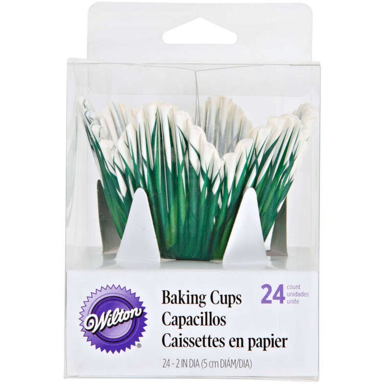 Grass Petal Cupcake Liners in Packaging