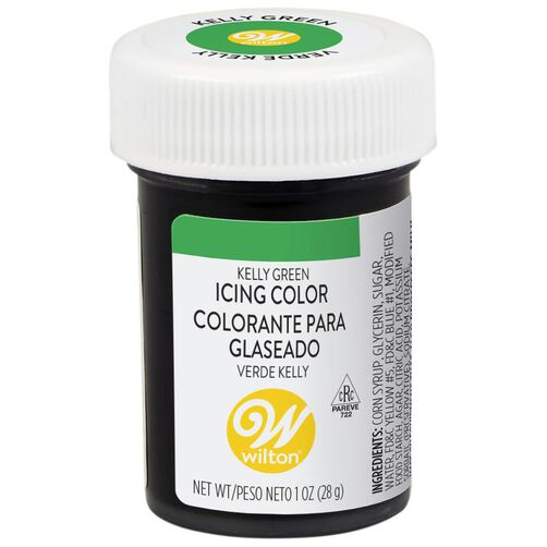 Kelly Green Gel Food Coloring Icing Color