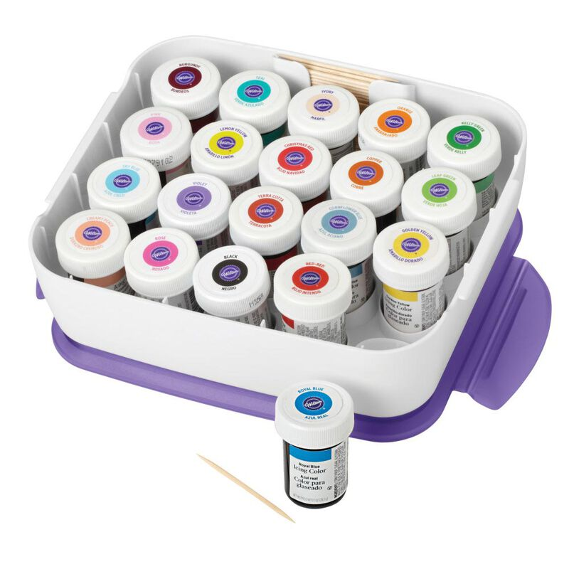 Icing Color Organizer Case - Cake Decorating Supplies image number 4