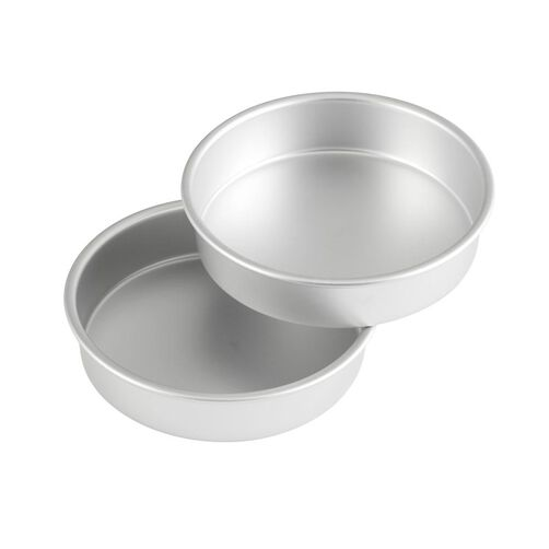 Aluminum Round Performance Pan Multipack, 8 in. x 2 in. (2-Pack)