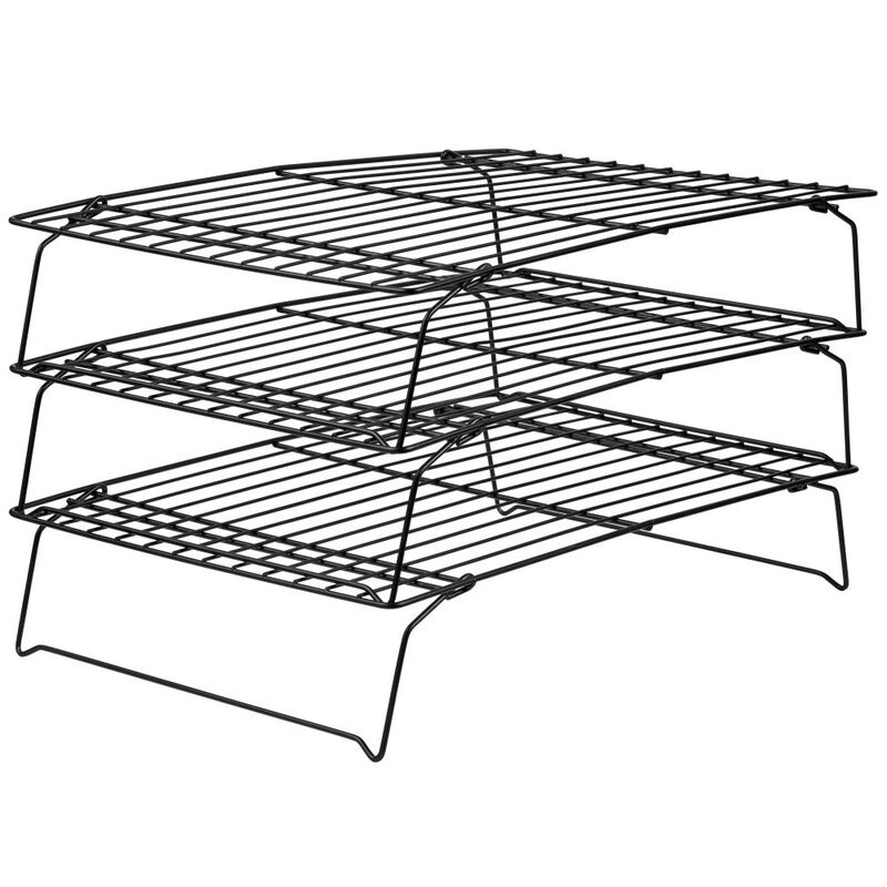 Recipe Right Non-Stick Cooling Rack, 3-Tier image number 0