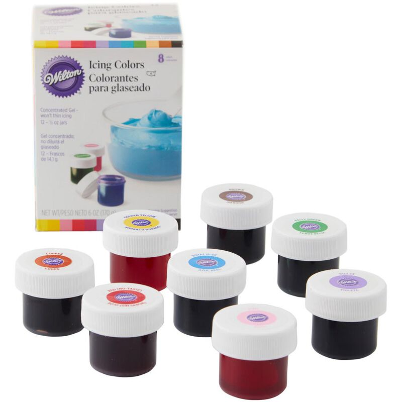 Icing Colors, 8-Count Icing Colors image number 0