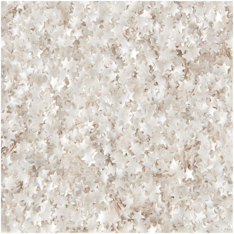 Edible Glitter Silver Stars, 0.04 oz. image number 2
