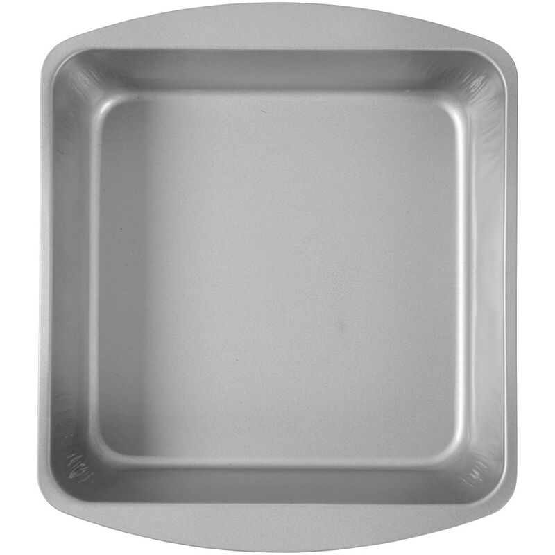 Bake and Bring Geometric Print Non-Stick 8-Inch Square Cake Pan image number 3