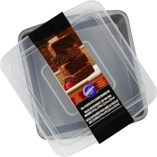 9 x 9 Covered Brownie Pan