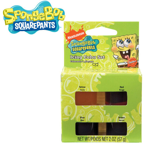 SpongeBob SquarePants Icing Color Set