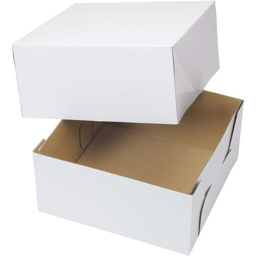10x10 Inch Corrugated Cake Boxes