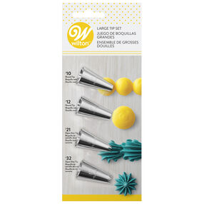 Large Icing Tip Set