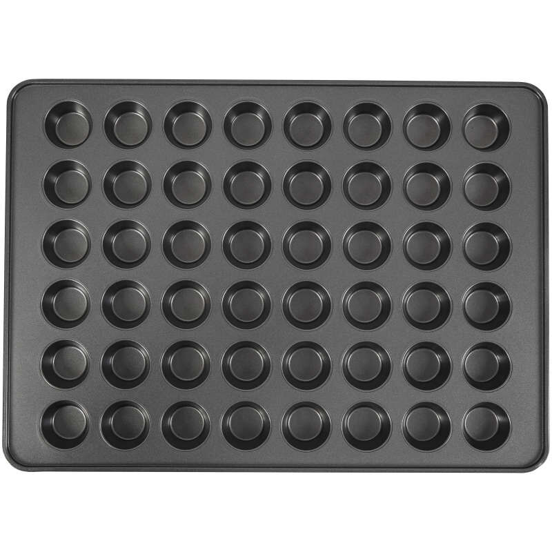 Perfect Results Non-Stick Mega Mini Muffin and Cupcake Pan, 48-Cup Pan image number 0