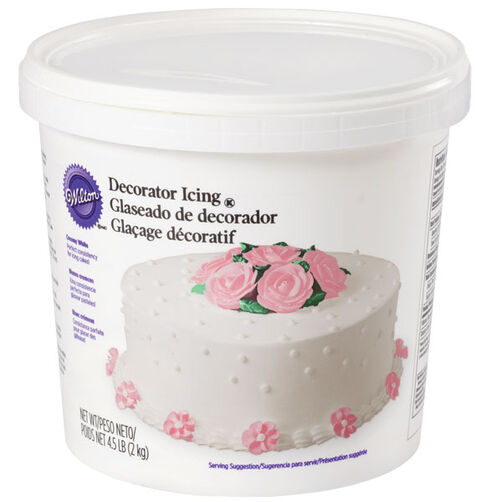 White Decorator Icing - 4.5 lb.
