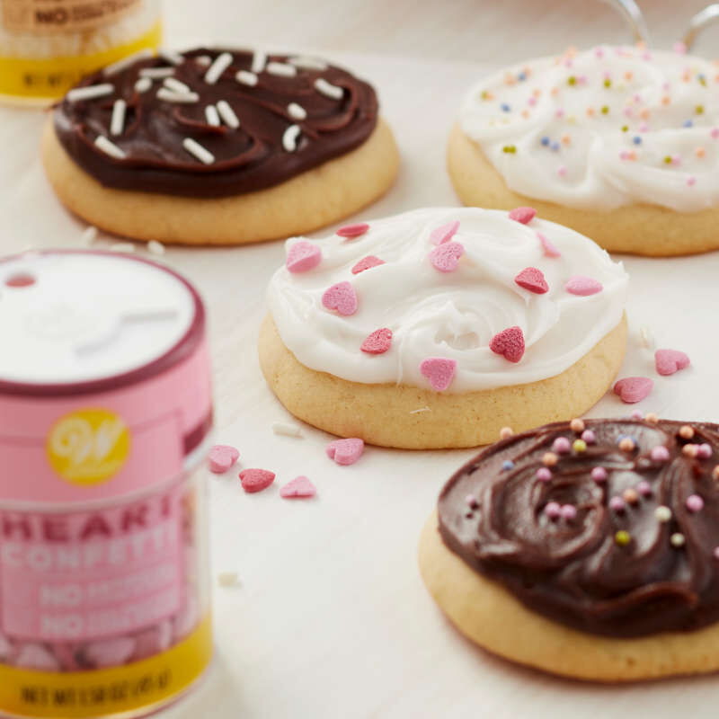 Naturally Flavored Heart Confetti Sprinkles, 1.58 oz. image number 4