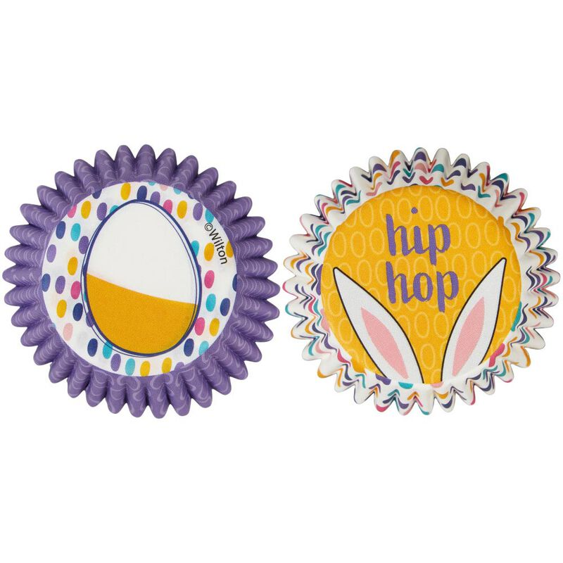 Easter Eggs and Hip Hop Mini Cupcake Liners, 100-Count image number 0