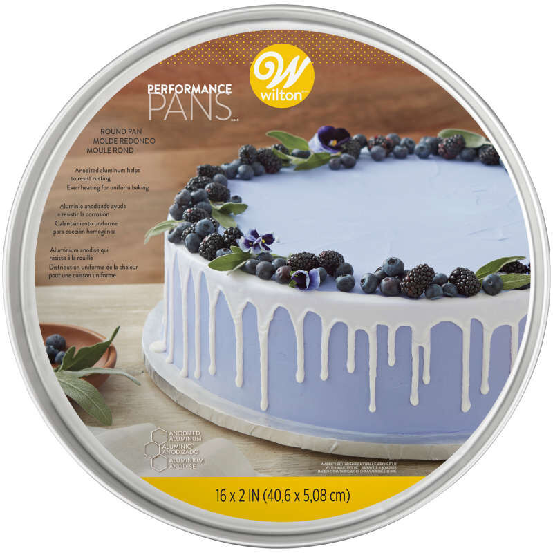 16 Inch Round Cake Pan in Packaging image number 1