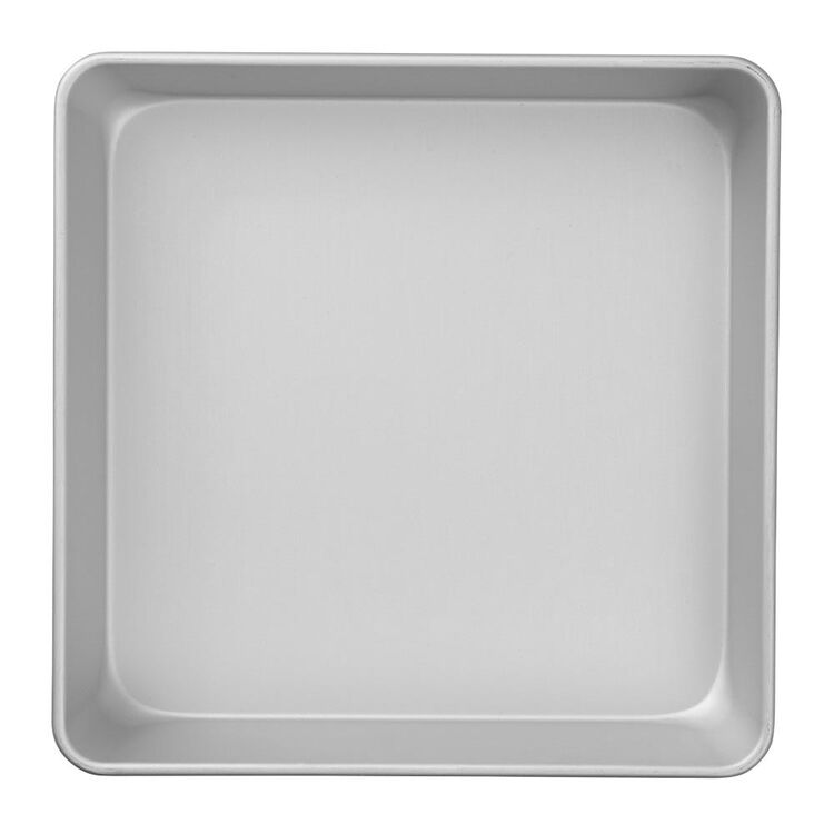 Performance Pans Aluminum Square Cake and Brownie Pan, 10-Inch