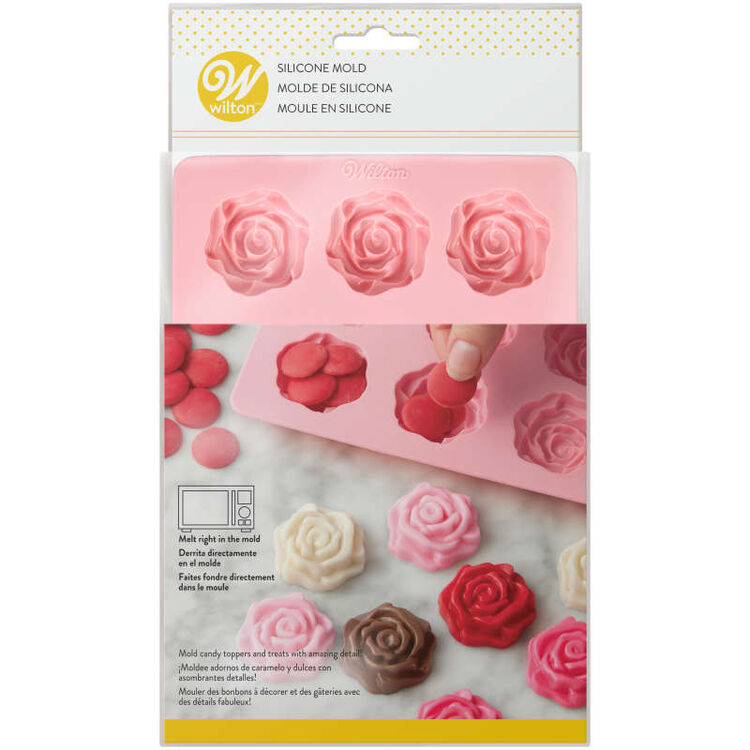 Rose Candy Mold In Packaging