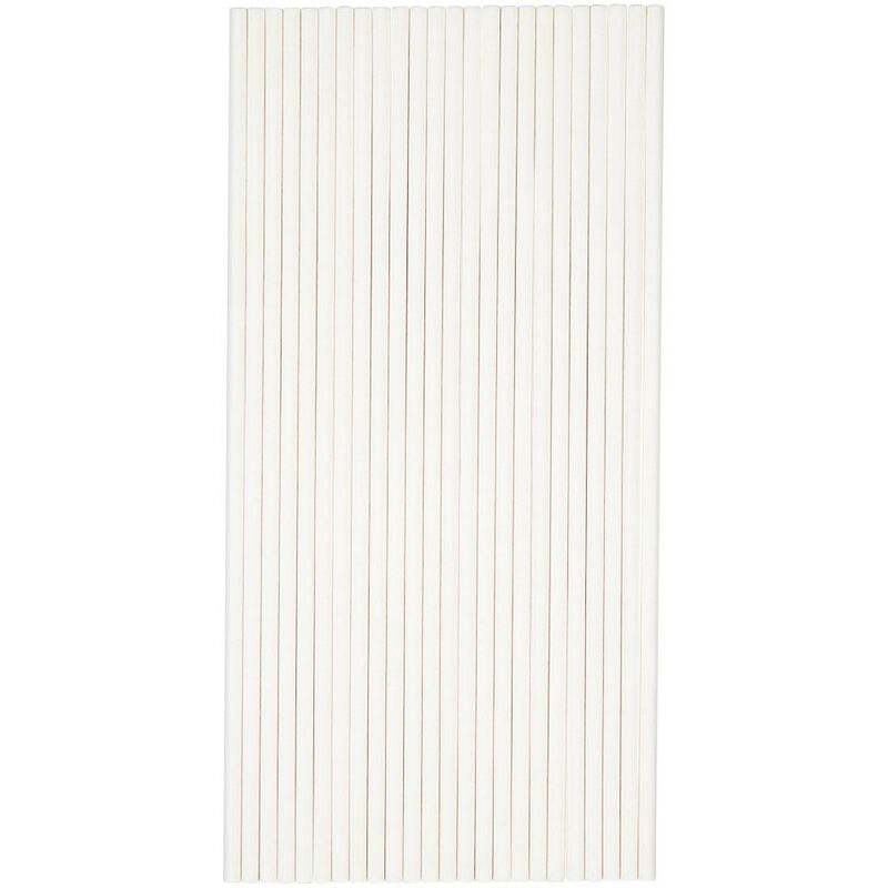 8-Inch White Treat Sticks, 25-Count image number 1