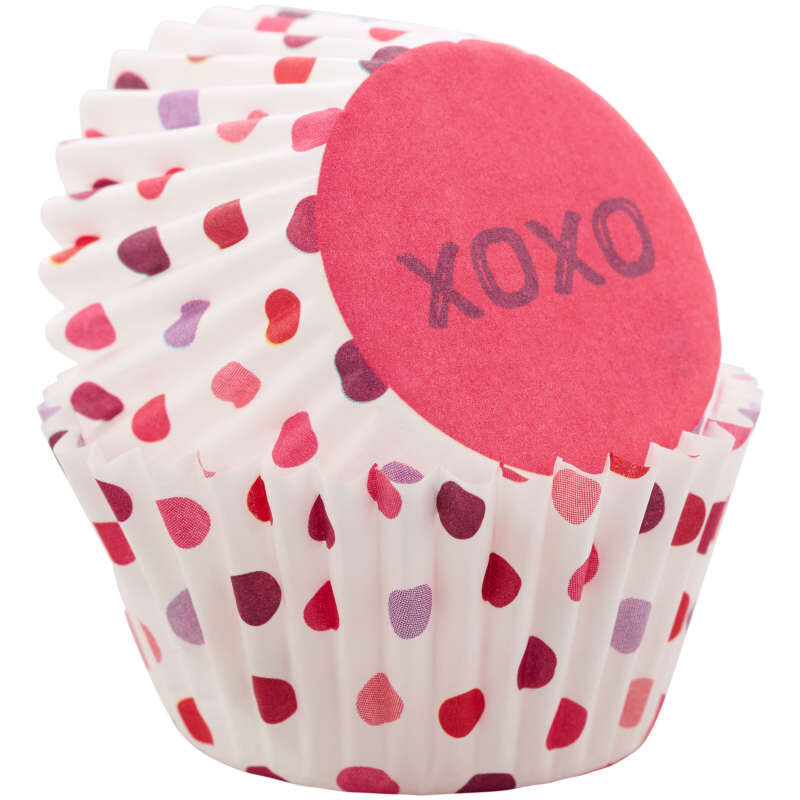 XOXO Mini Cupcake Liners, 100-Count image number 2