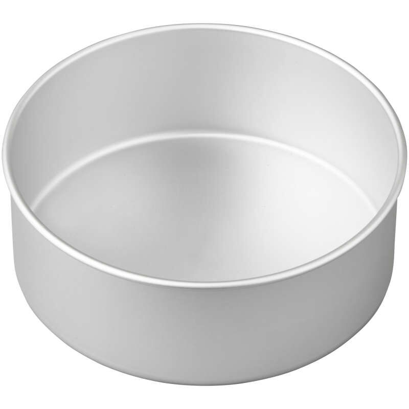 Decorator Preferred 8 x 3-inch Round Aluminum Cake Pan image number 2