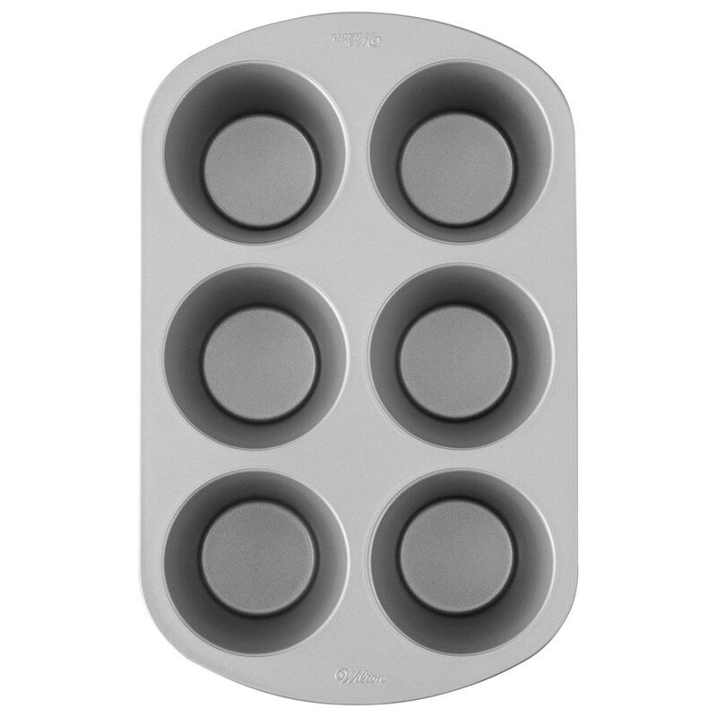Giant Cupcake Pan, 6-Cup Jumbo Muffin and Cupcake Pan image number 1