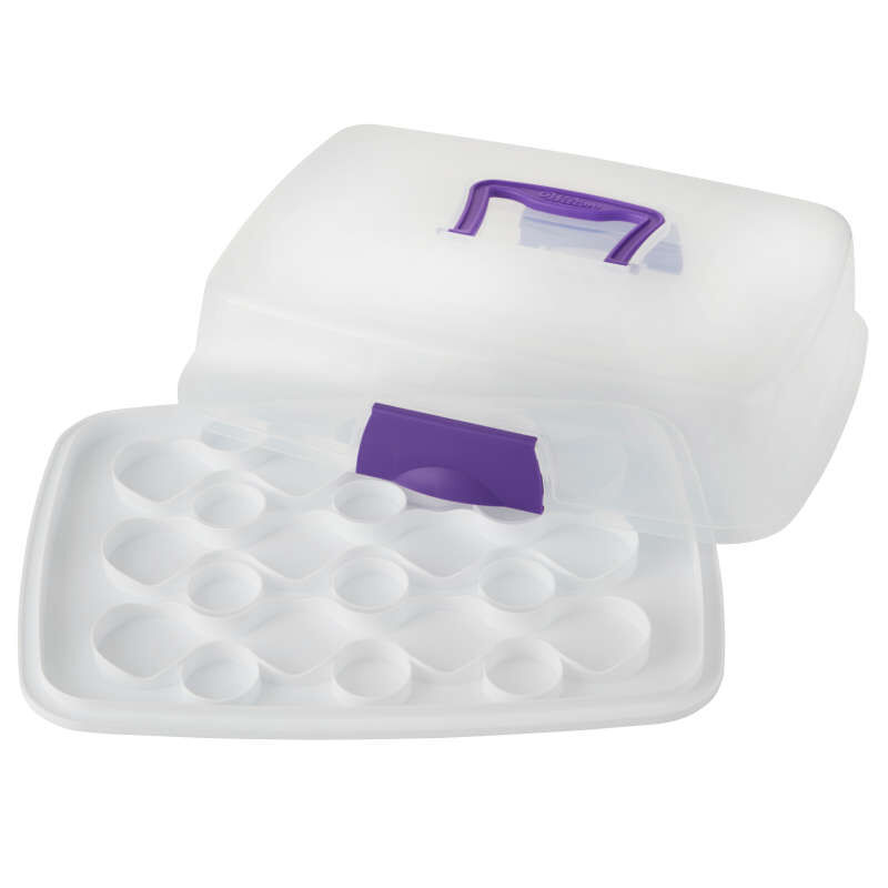 Rectangle Cupcake Carrier with Cover image number 2