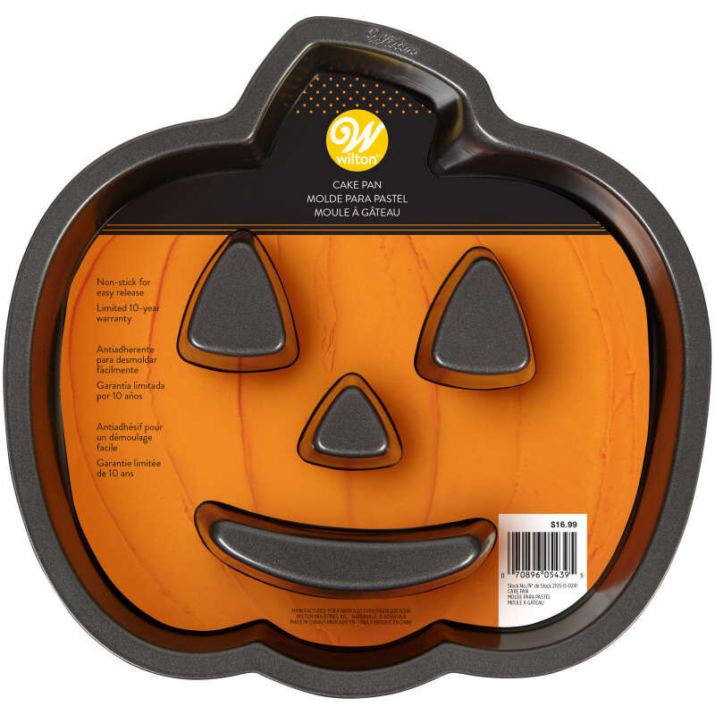 Jack-O-Lantern Shaped Cake Pan image number 1