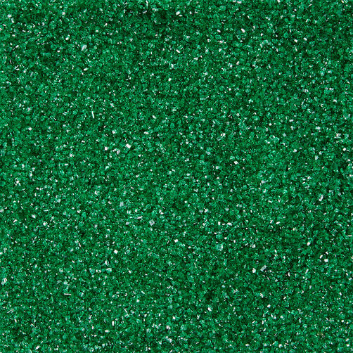 Dark Green Sanding Sugar, 3.25 oz.