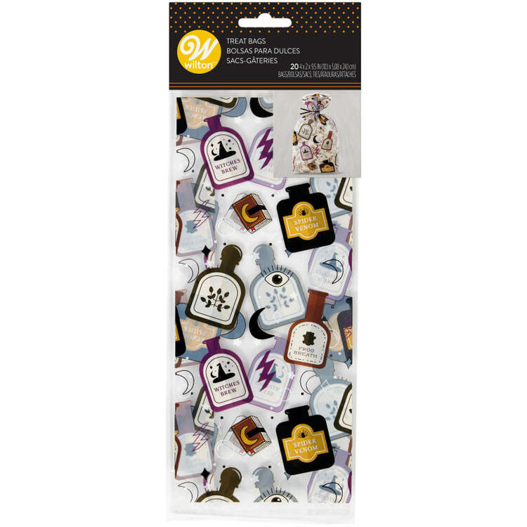 Spells and Potions Halloween Treat Bags, 20-Count