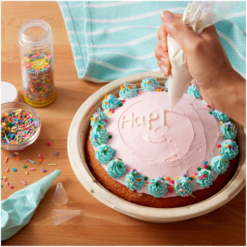 Disposable Cake Decorating Tips Set, 4-Pieces image number 3