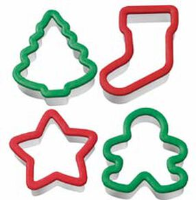 Comfort Grip Christmas Cookie Cutter Set