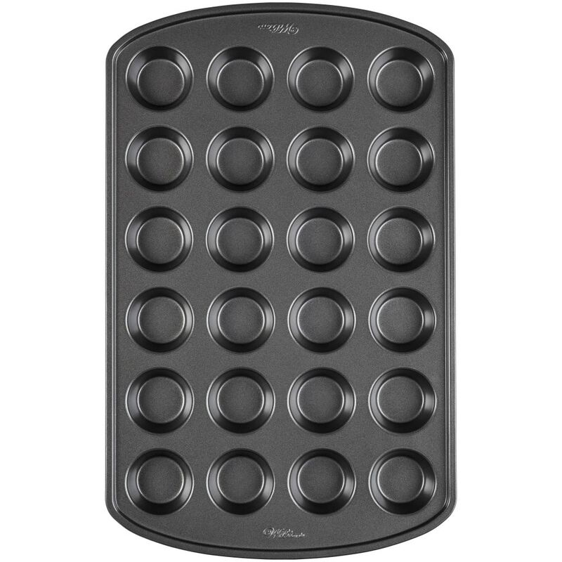 Perfect Results Non-Stick Mini Muffin Pan, 24-Cup image number 0