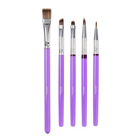 Cake Decorating Tools, 5-Piece Brush Set