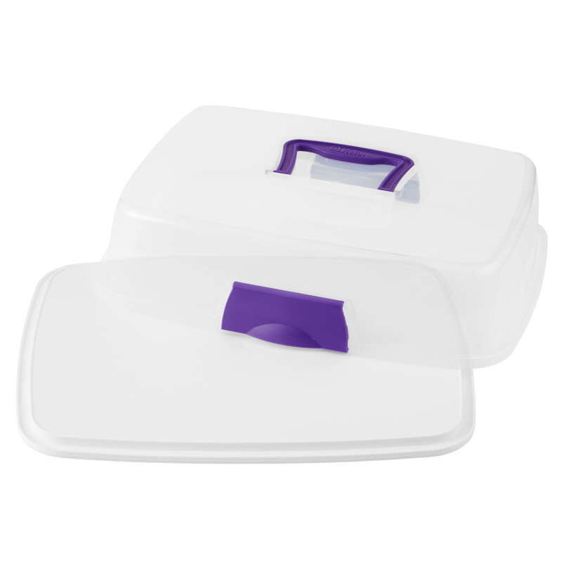 Rectangle Cake Carrier with Cover image number 3