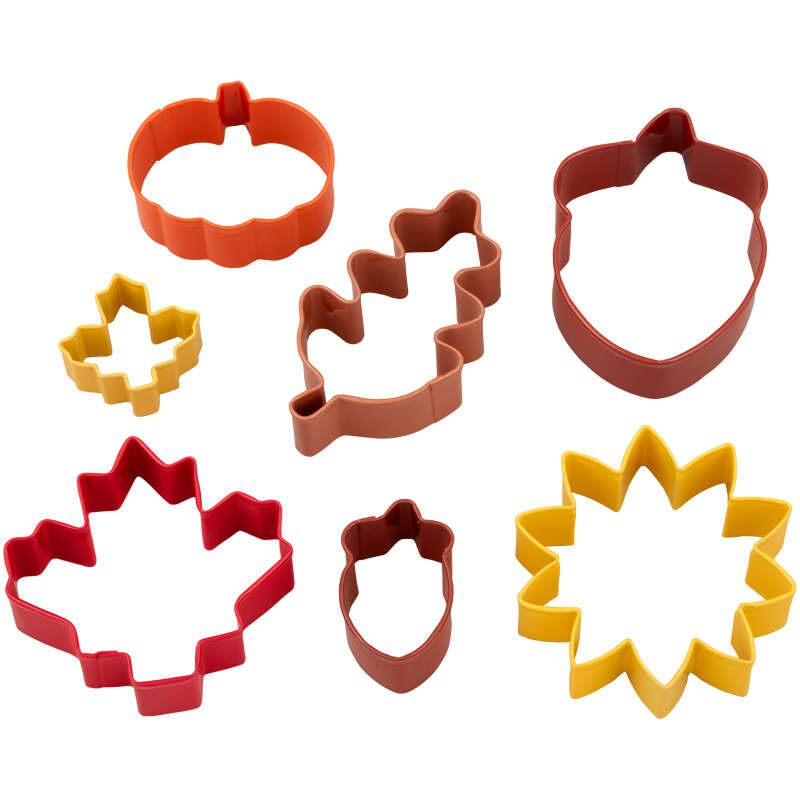 Fall Cookie Cutters Set, 7-Piece image number 1