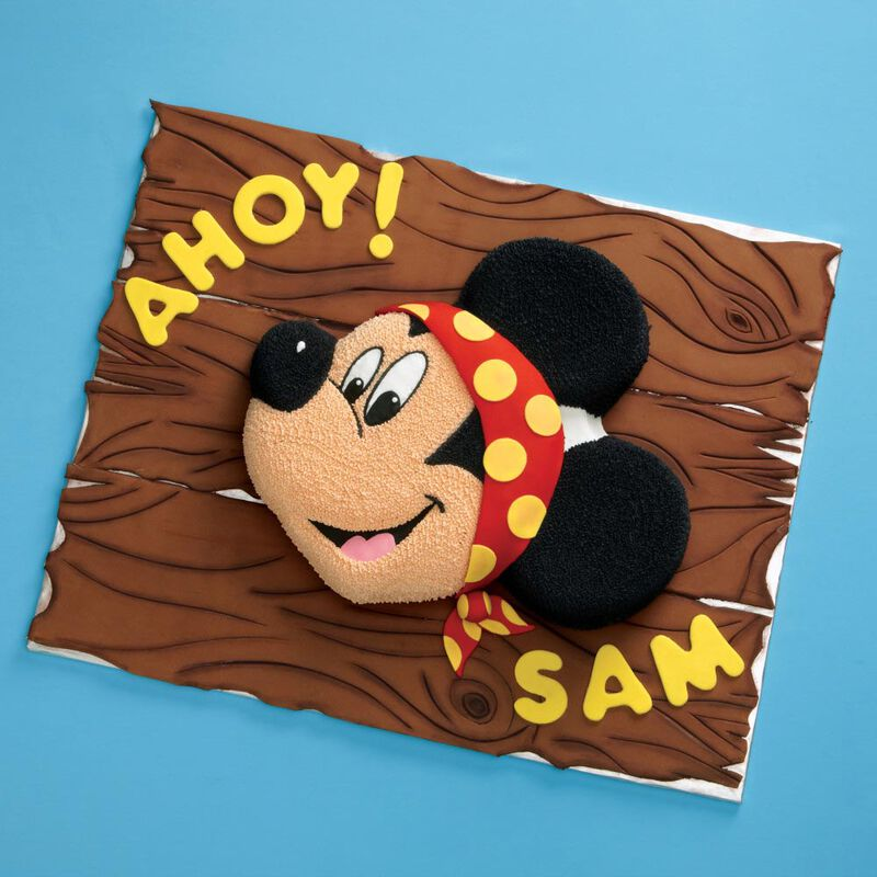 Aluminum Mickey Mouse Cake Pan image number 2