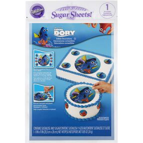 Disney Pixar Finding Dory Peel & Place Sugar Sheets