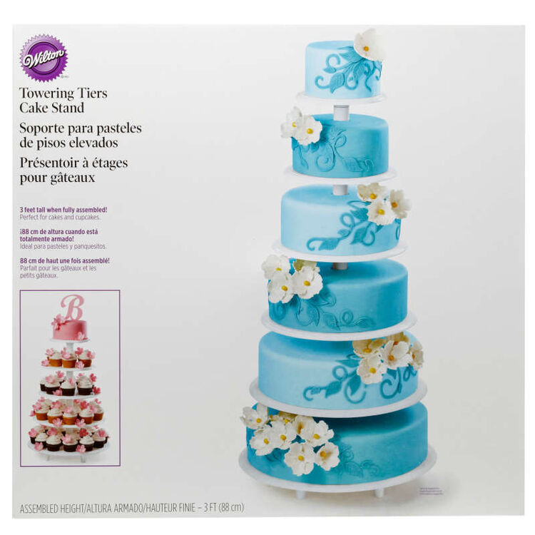 Six Tier Cake Stand in Packaging
