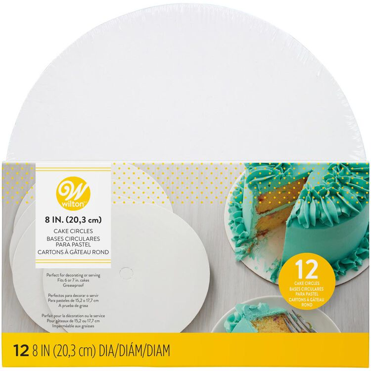 8-Inch Cake Circles, 12-Count