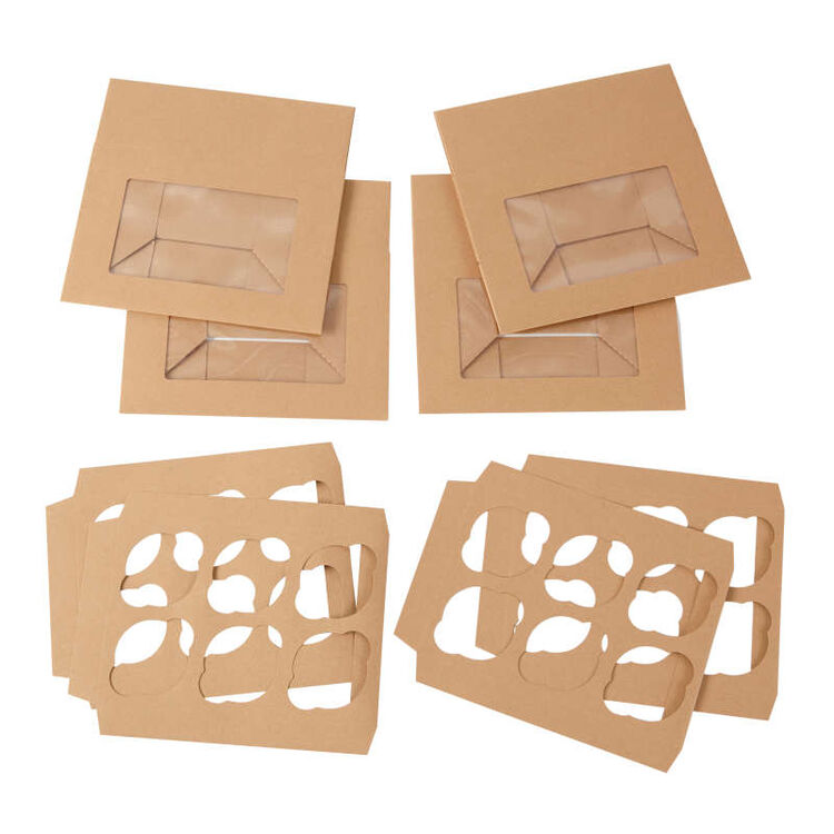 Kraft Cupcake Boxes Out of Packaging