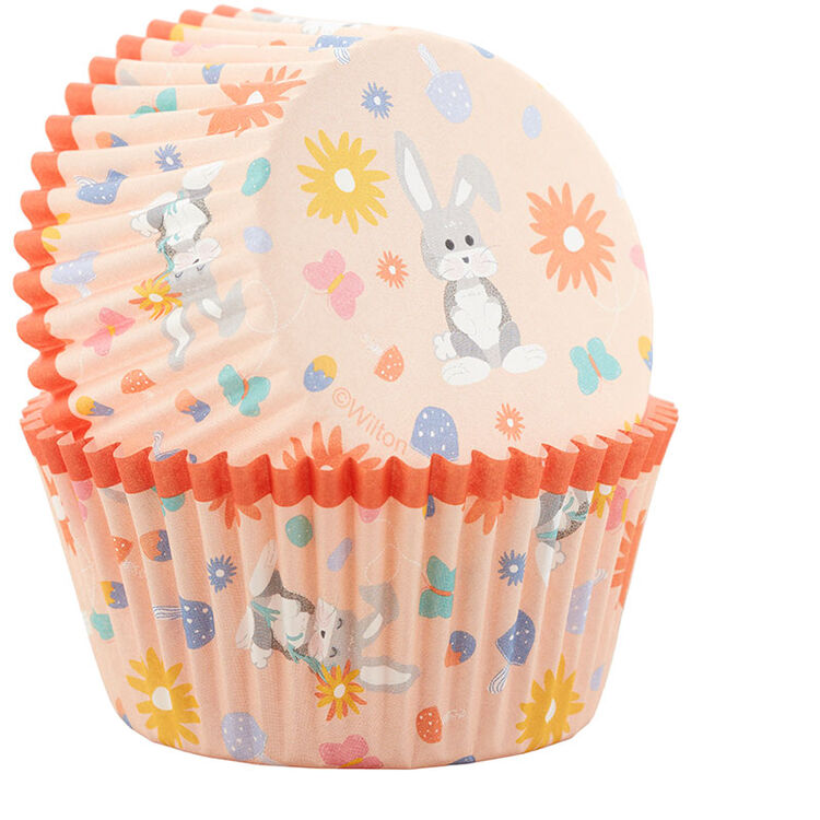Easter Bunny Baking Cups, 75-Count
